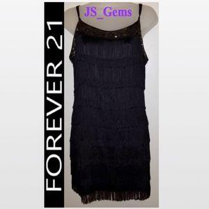 Sequence & Flapper Tassel Dress